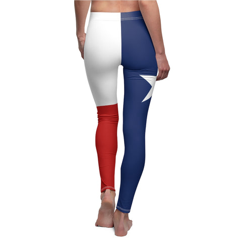 Texas Flag Leggings Premium