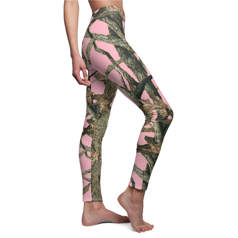 Light Pink Camo Leggings
