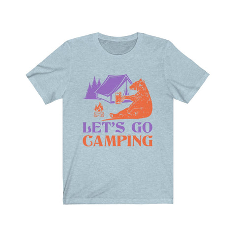 Lets Go Camping Unisex Jersey Shirt