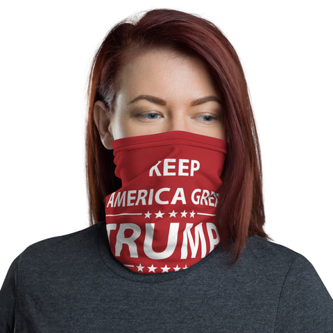 Keep American Great Neck Gaiter Covering