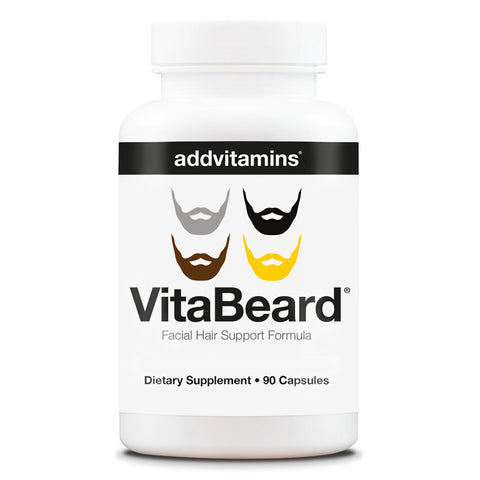 VitaBeard® Facial Hair Support Formula