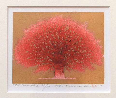 Tree Scene 103 A (Framed) - SAKURA FINE ART