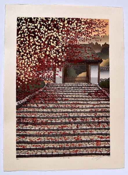 Sanmon no Aki (Entrance of Mountain at Autumn) - SAKURA FINE ART