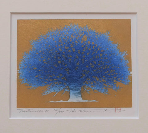Tree Scene 103 B (Framed) - SAKURA FINE ART