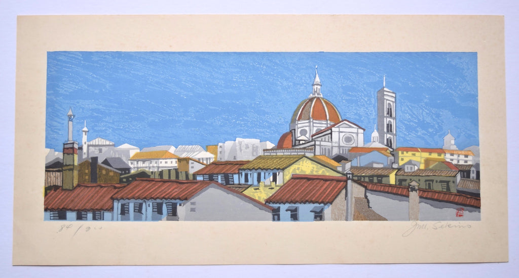 A View of Florence - SAKURA FINE ART