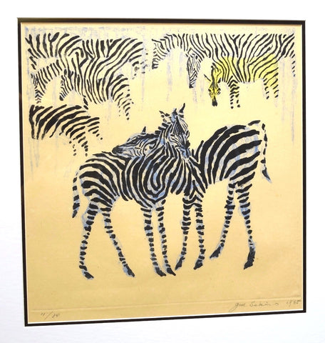 Zebra, Mure kara hanarete (Away From the Herd),  1965 - SAKURA FINE ART