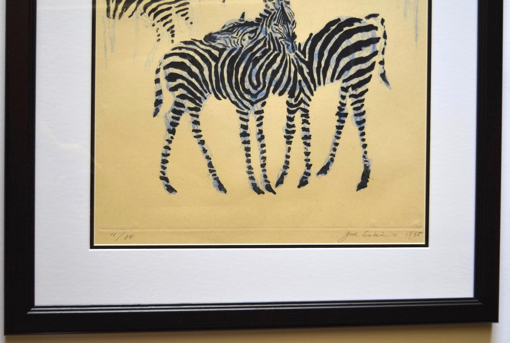 Zebra, Mure kara hanarete (Away From the Herd),  1965