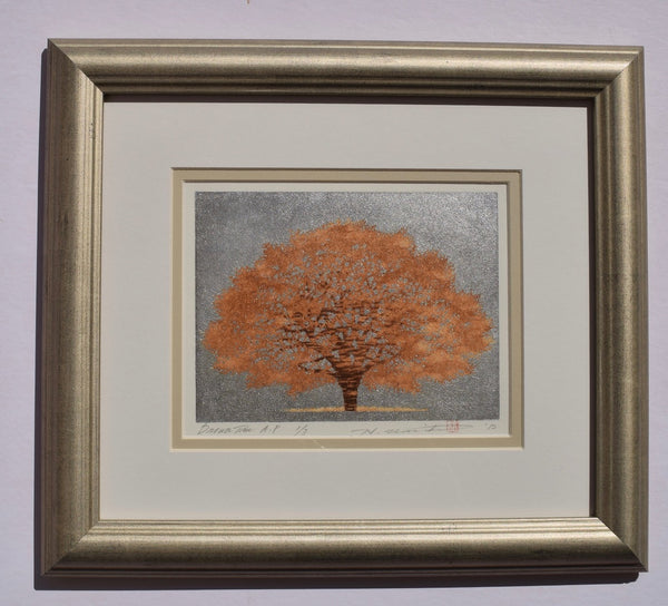 Brown Tree  (Framed) - SAKURA FINE ART