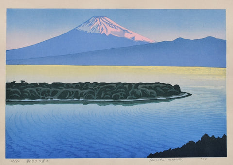 Asayake no Fuji  (Mt. Fuji of the Morning Glow)