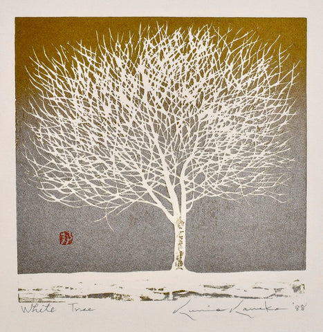 White Tree - SAKURA FINE ART