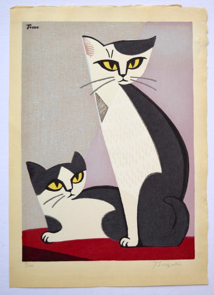 Two Cats - SAKURA FINE ART