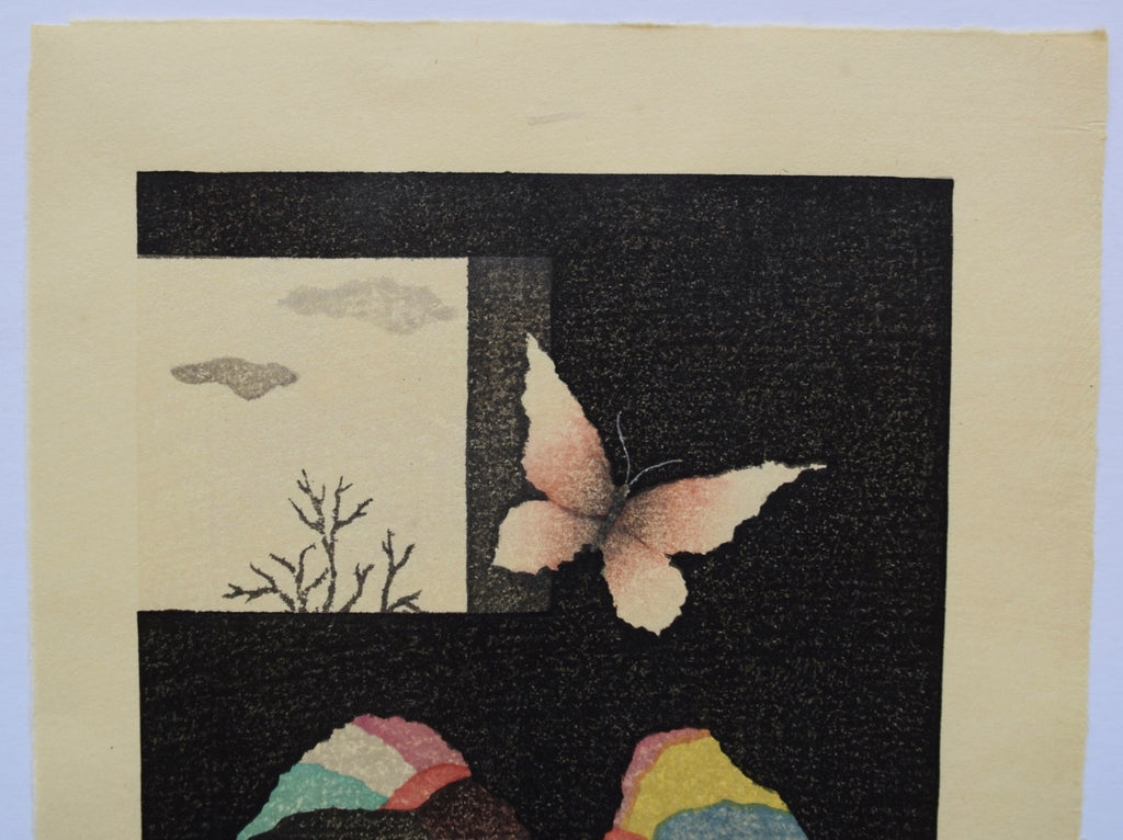 Ko Cho -Ko Sou  ( A Butterfly and A Window )