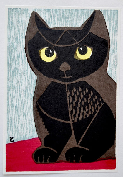 Cat with Golden Eyes - SAKURA FINE ART