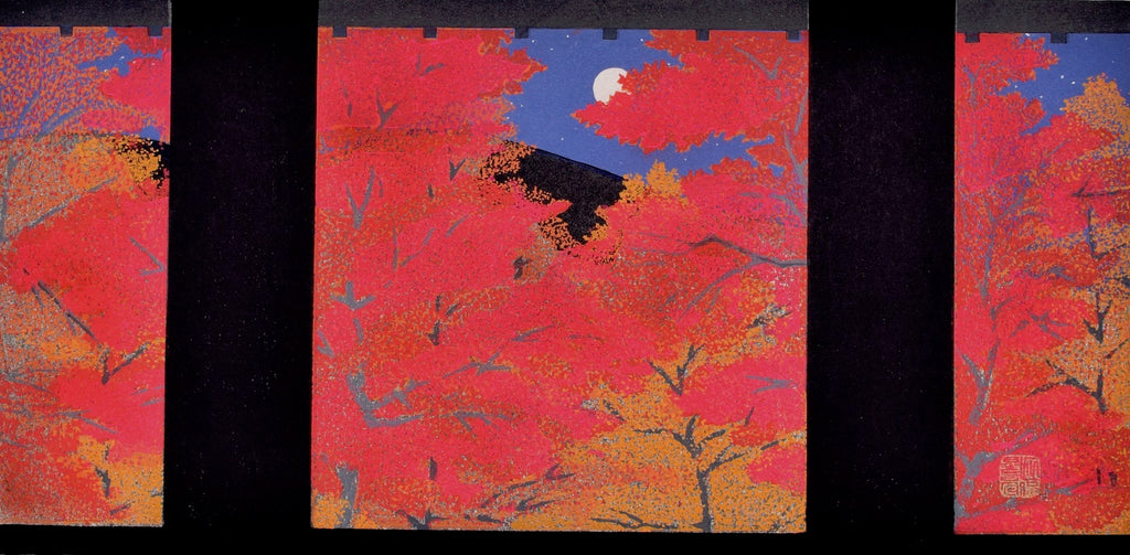 Nanzenji Koyo (Colored Leaves at Nanzenji Temple) - SAKURA FINE ART