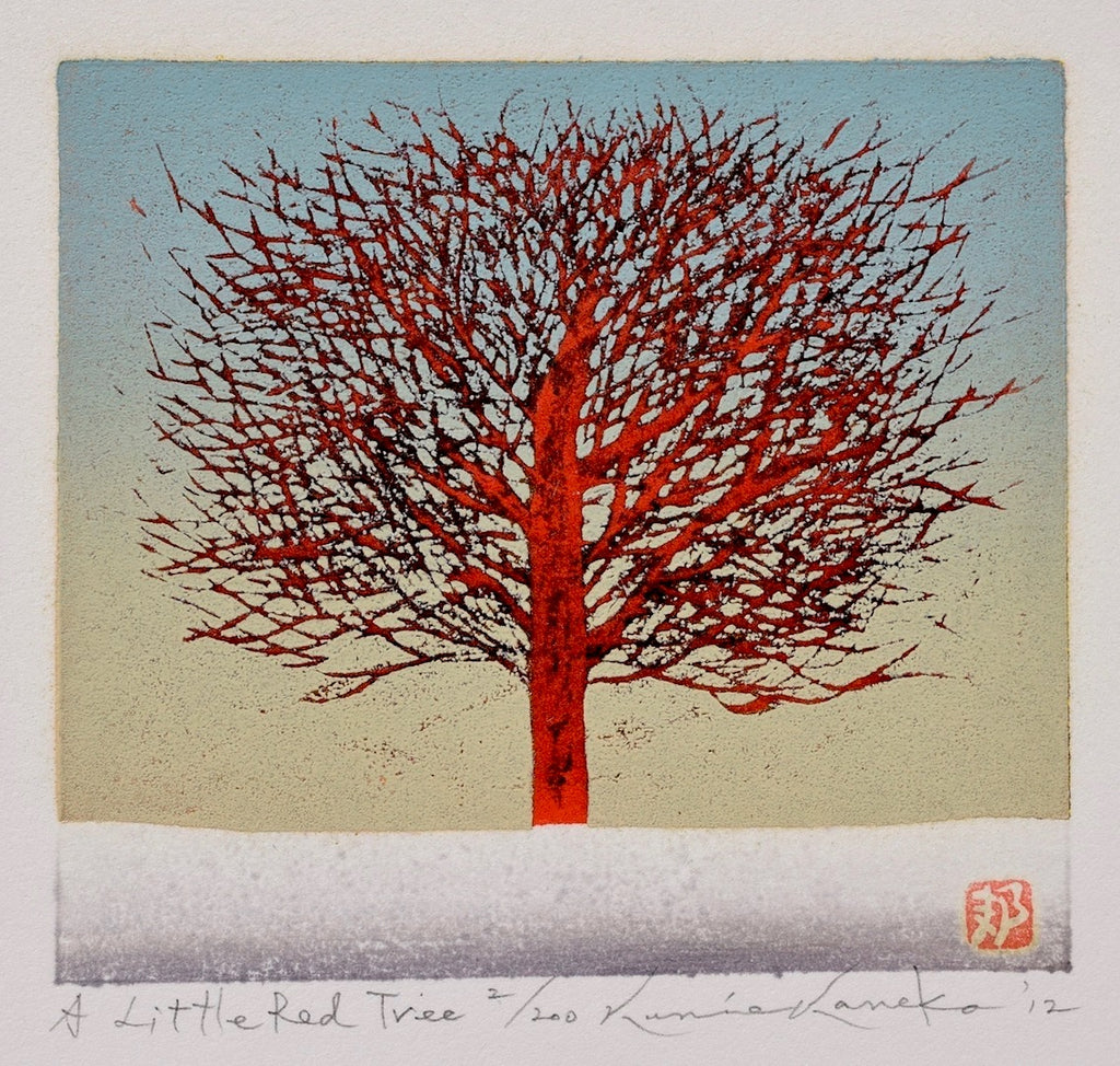 A Little Red Tree