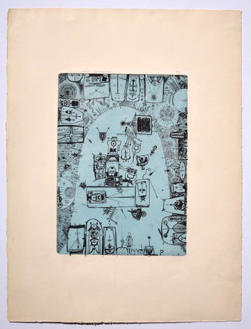 Untitled  - Etching, 1966 - SAKURA FINE ART