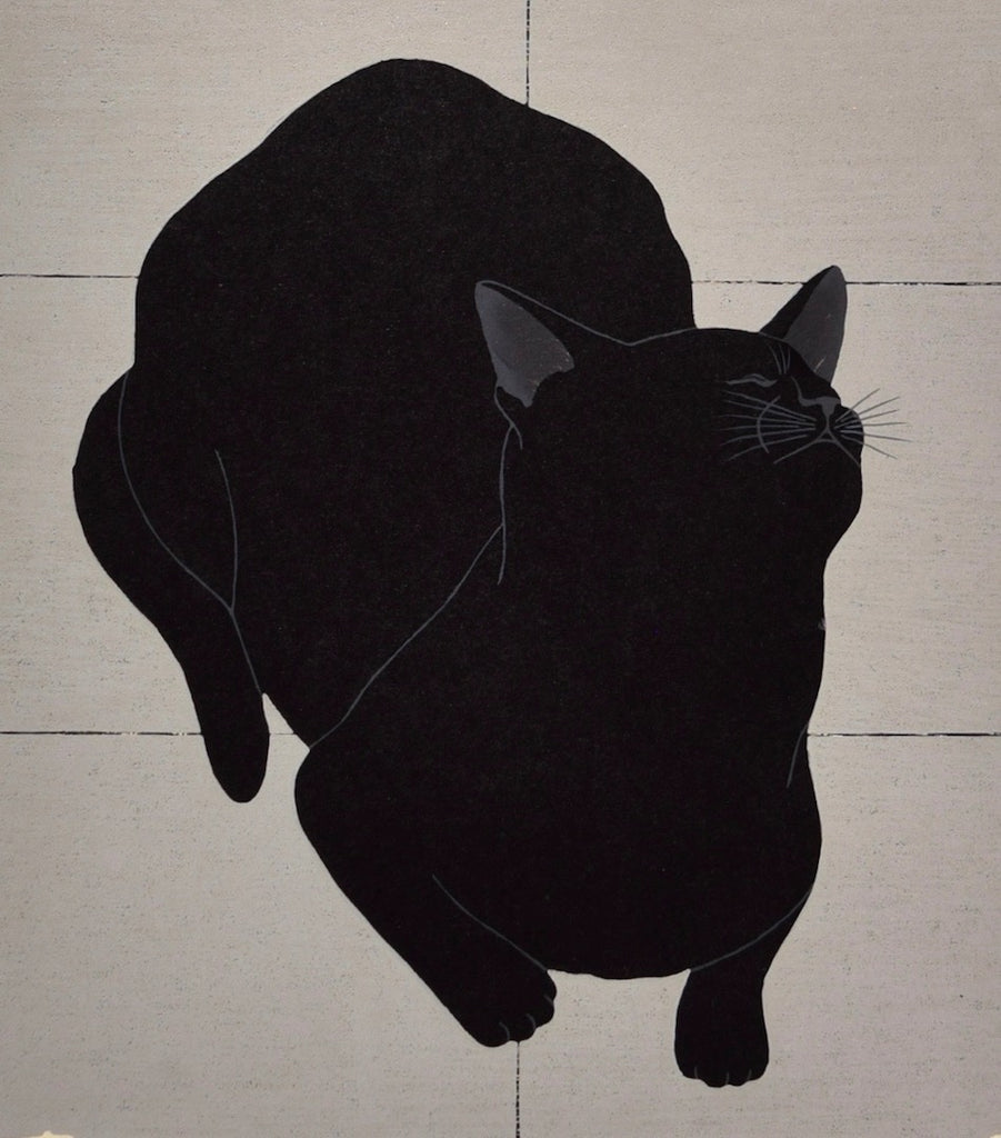 Cat and Calligraphy  - Tenshin Ranman B5 (Innocence) - SAKURA FINE ART
