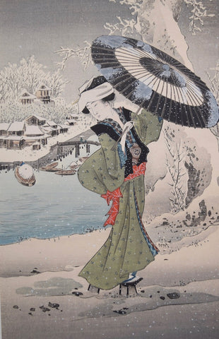 Beauty in the snow - SAKURA FINE ART