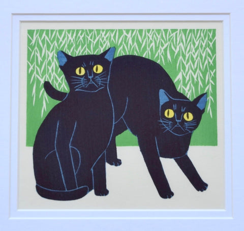 Blue Cats - SAKURA FINE ART