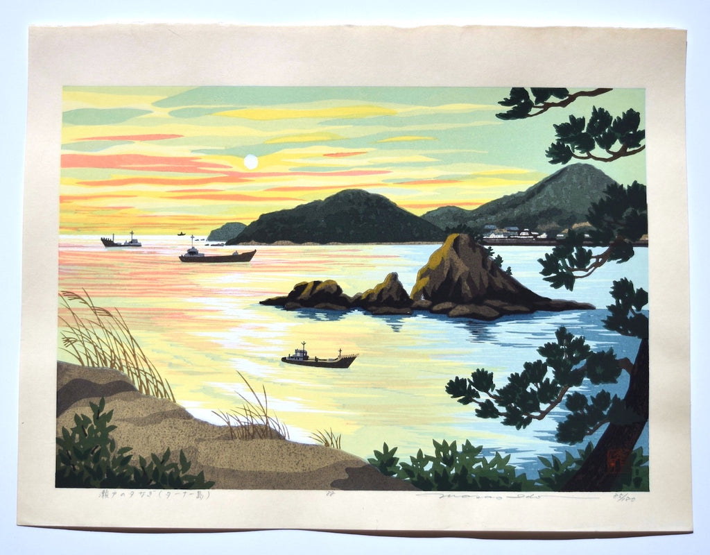 Seto no yunagi (Sunset at Seto Island) - SAKURA FINE ART