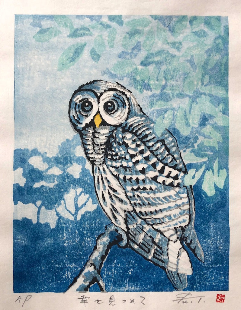 - Shiawase mitsumete (Gazing at the Happiness - Owl) -