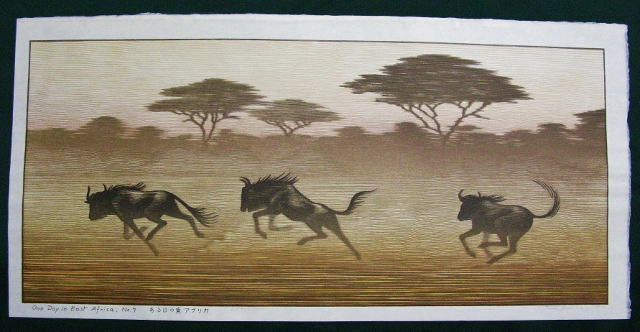One Day in East Africa No.7 - SAKURA FINE ART