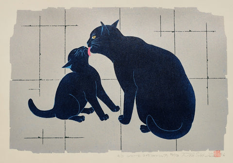 Skinship - Blue Cats