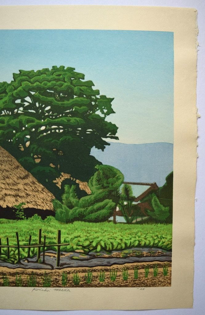Kayabuki Ryokufu  (Thatched house in Early Summer)