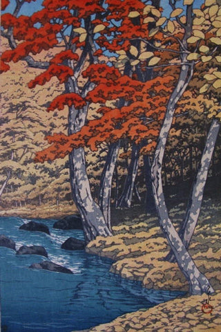 Oirase no aki  (The Autumn at Oirase) - SAKURA FINE ART