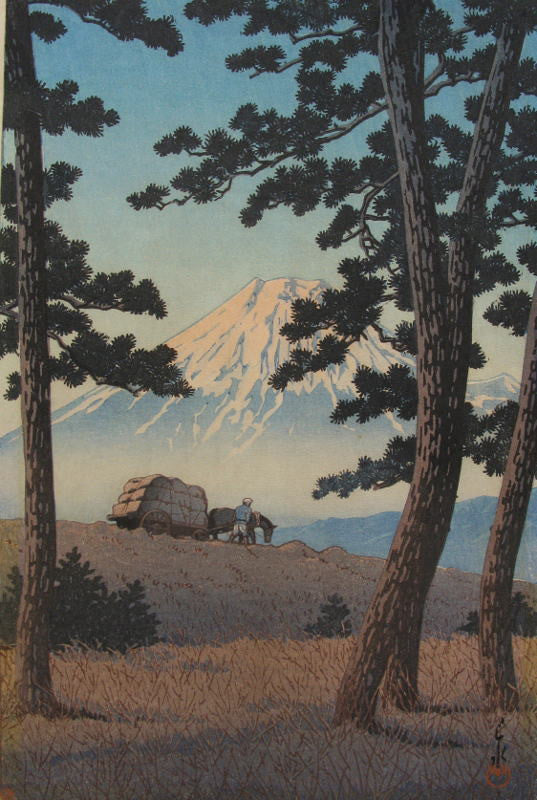 Tagonoura no Yuu    (Mt. Fuji seen from Tagonoura, Evening)