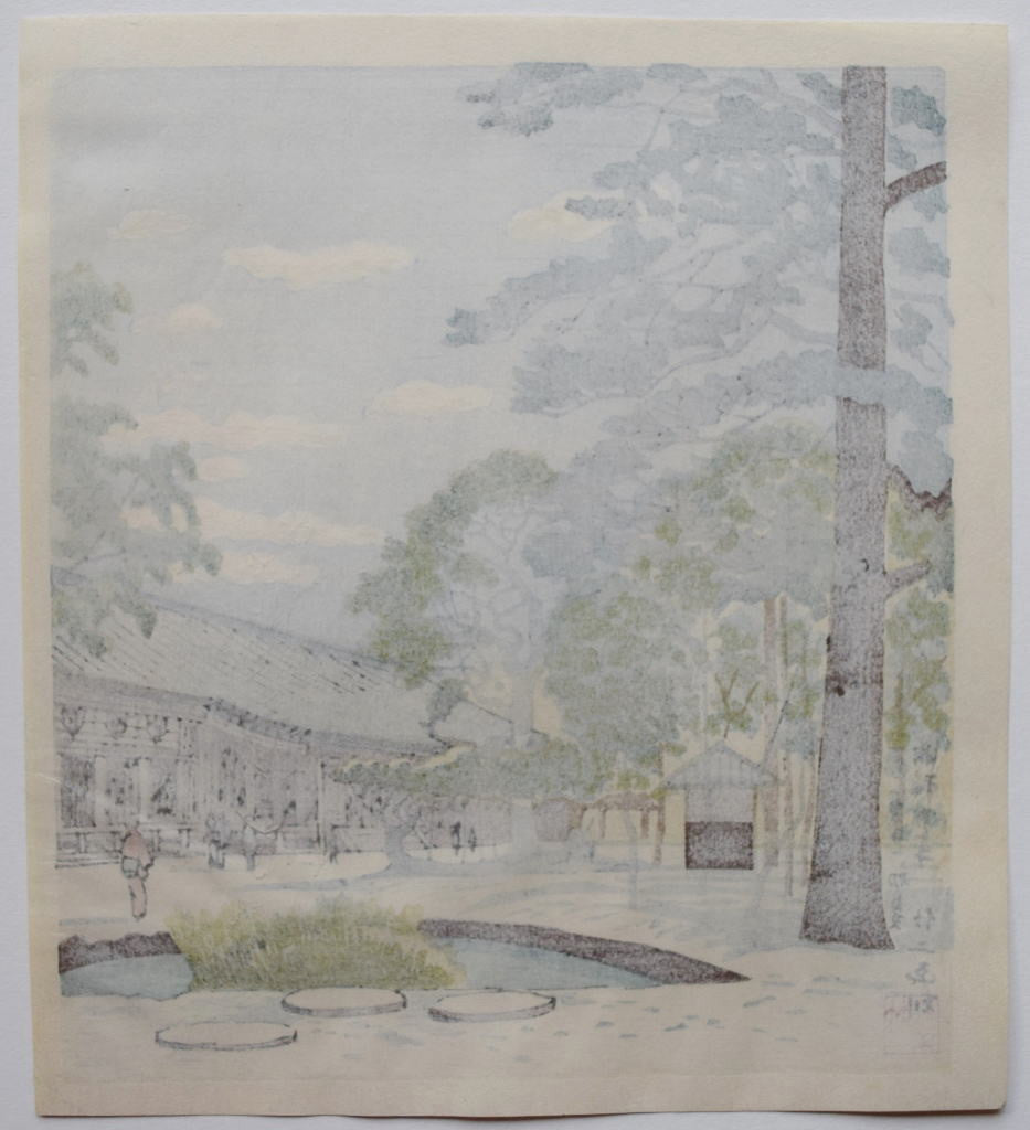 Sanjusangendo Shoka (Sanjusangendo Temple at Early Summer)