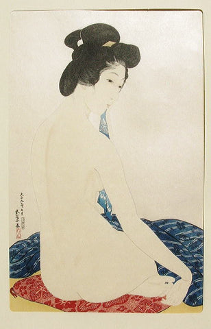 Yawahada (Woman after the bath)