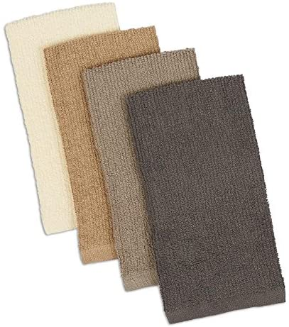 Design Imports Bar Mop Towels, Set of 4