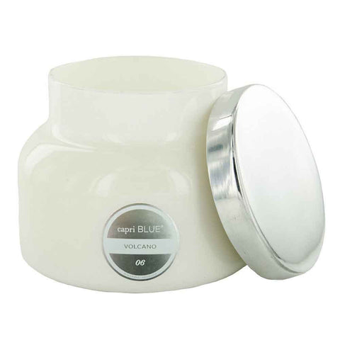 Capri Blue Volcano White Signature Jar 19 oz