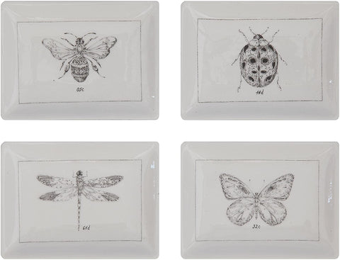 Creative Co-Op Ceramic Insect Dishes