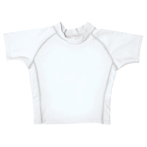 I Play Unisex Baby Short-Sleeve Rashguard Shirt
