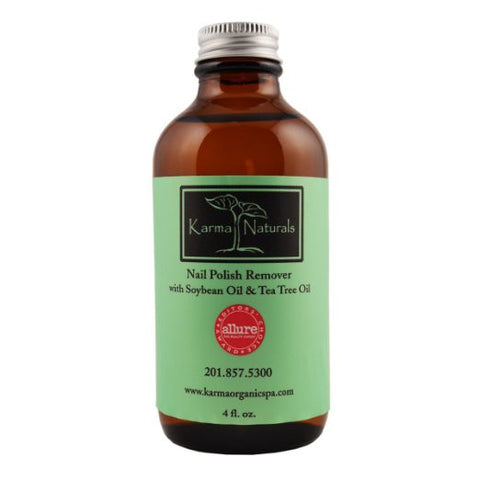 Karma Organic Nail Polish Remover, Soybean & Tea Tree Oil