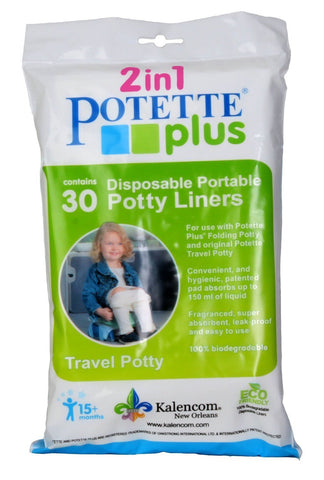 Kalencom Potette Plus Liners Value Pack (30 Liners)