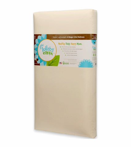 Lullaby Earth Healthy Support Crib Mattress, 2-stage