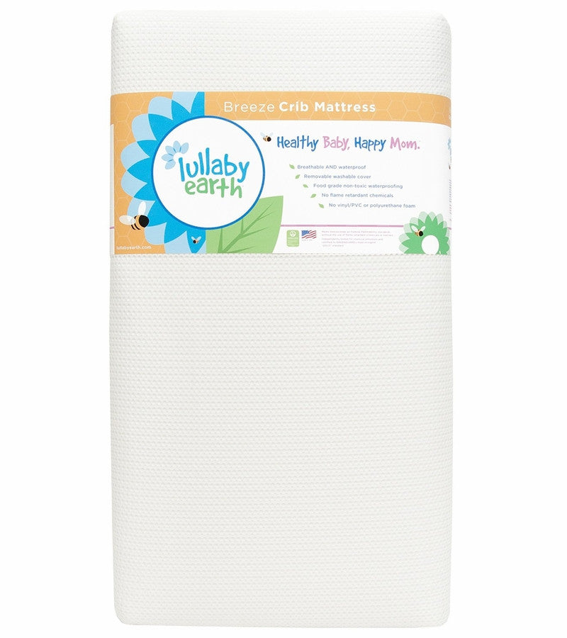 Lullaby Earth Breeze Crib Mattress, 2-Stage