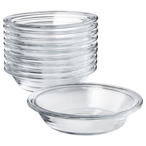 "Libbey ""Just Baking"" Glass Pie Pan Set"