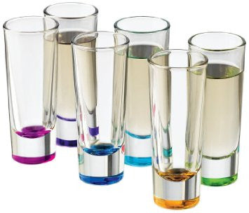 Libbey Troyano Colors Shot Glass Set