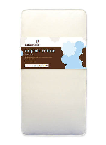 Naturepedic No Compromise Organic Cotton Classic 252 Crib Mattress