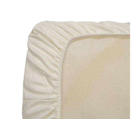 Naturepedic Waterproof Fitted Crib Pad, 28x52