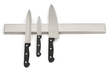 RSVP Endurance¨ Stainless Steel 10 Inch Deluxe Magnetic Knife Bar