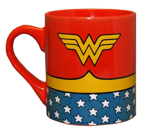Silver Buffalo, Wonder Woman Uniform Ceramic Mug