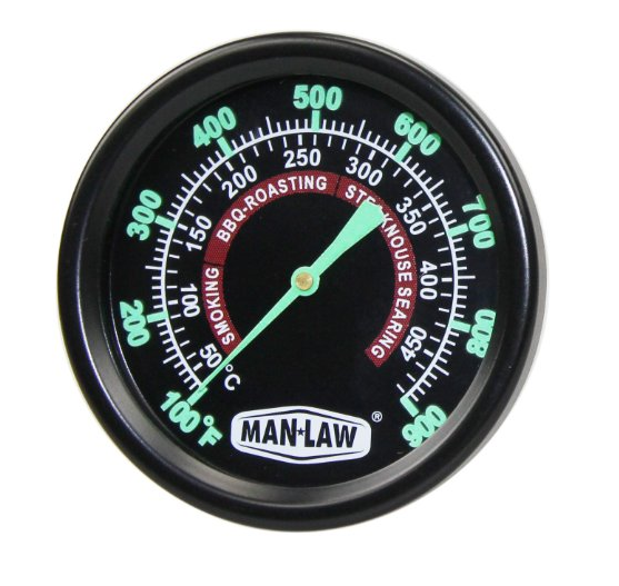 MAN LAW BBQ Grill and Smoker Thermometer