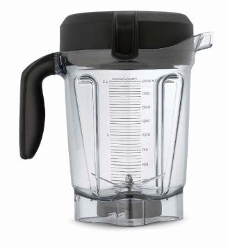 Vitamix Low Profile Replacement Wet Container with Lid