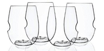 govino¨ Dishwasher Safe Series: Flexible Shatterproof Recyclable Wine Glass Set