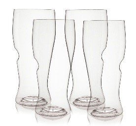 govino¨ Classic Series: Flexible Shatterproof Recyclable Beer Glass Set